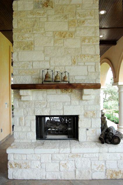 Stone Fireplace Decorating Ideas Outdoor Stone Fireplaces Stone