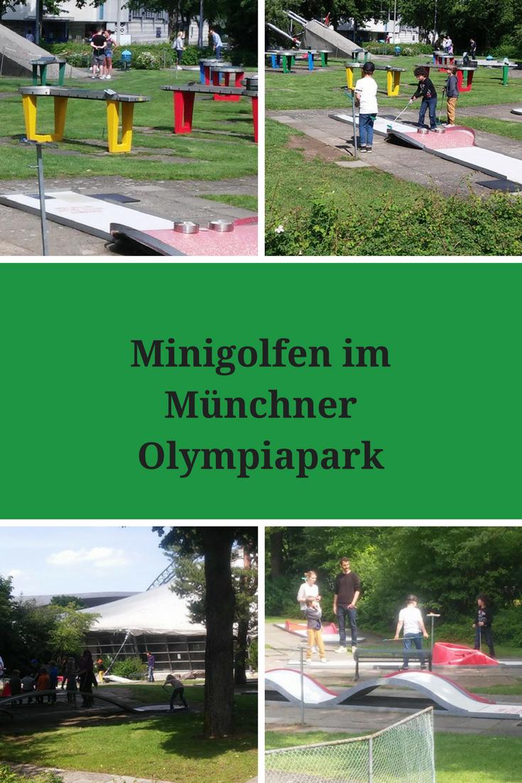 Minigolfen im Münchner Olympiapark - ideas4parents.com