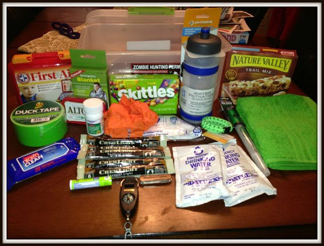 Guest Post - Zombie Apocalypse Survival Kit | Preppers | Apocalypse