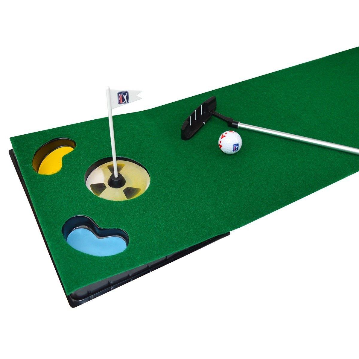Tapis De Golf Avec Un Putter Retractable Taille Tu Tapis De