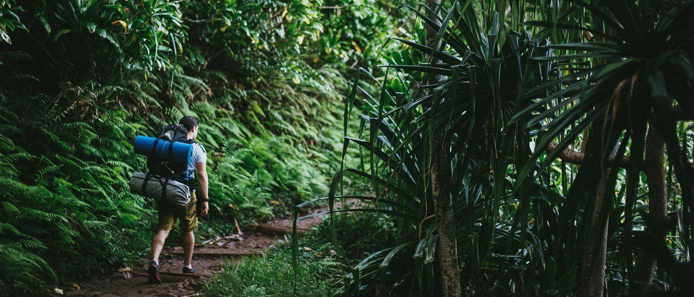 We head west to take a peek into the treacherous beauty of Kauai's Kalalau Trail