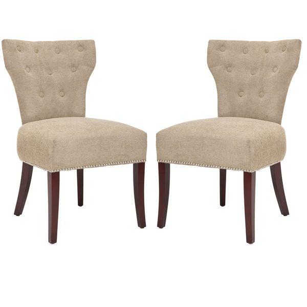 Tan Side Chairs