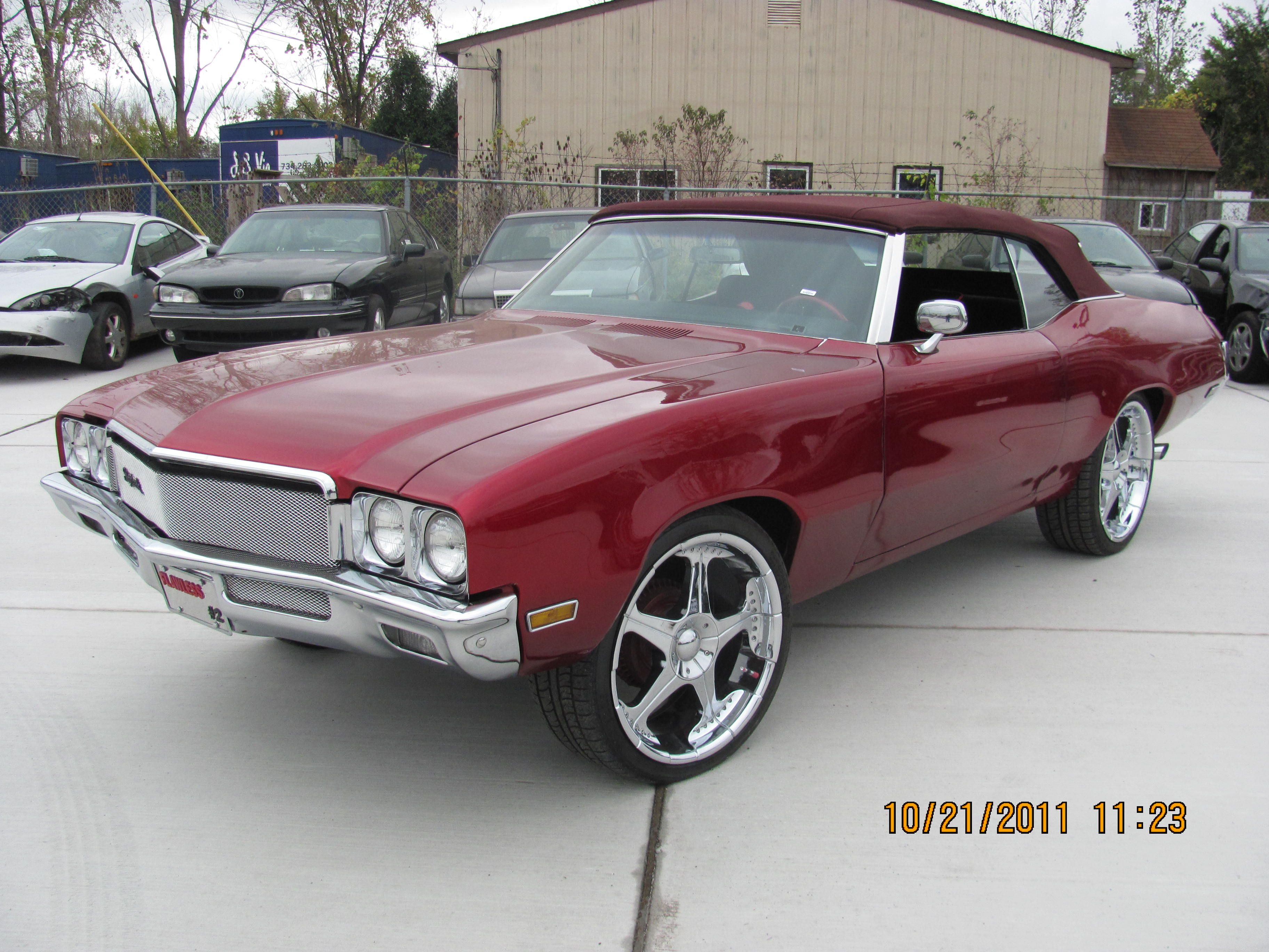Buick gs convertible for sale 71 buick skylark convertible