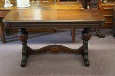 Surprising Antique Jacobean Style Mahogany Trestle Table Sofa Console Ibusinesslaw Wood Chair Design Ideas Ibusinesslaworg