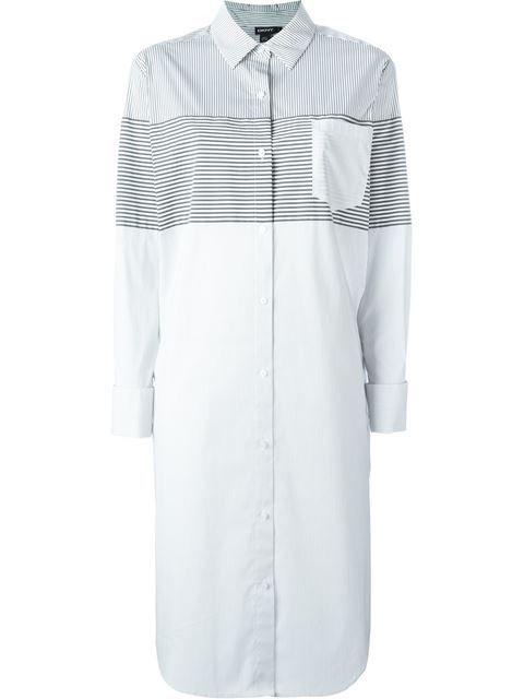 2a7ad868cd3 DKNY Striped Shirt Dress.  dkny  cloth  dress