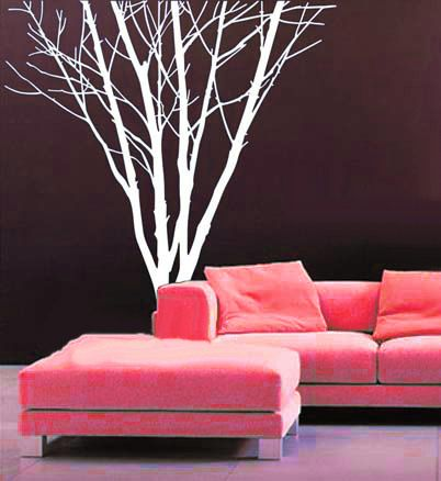 Wall Stencil Art tree wall decals wall stickers wall murals wall art wall stencil