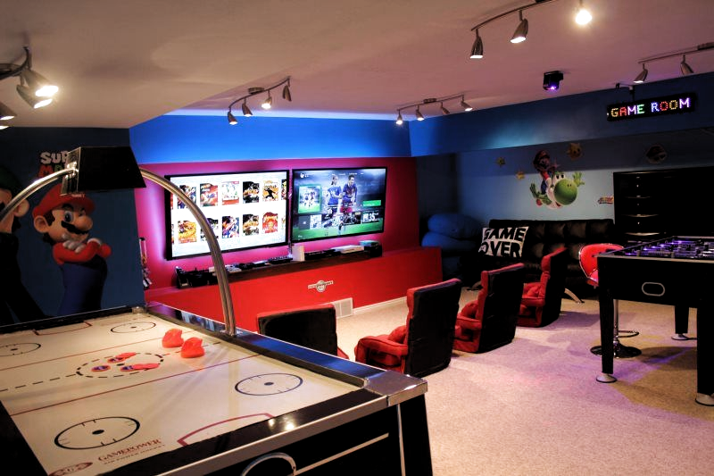Pin By Malak On Entertainment Game Room Family Arcade Game Room Arcade Room
