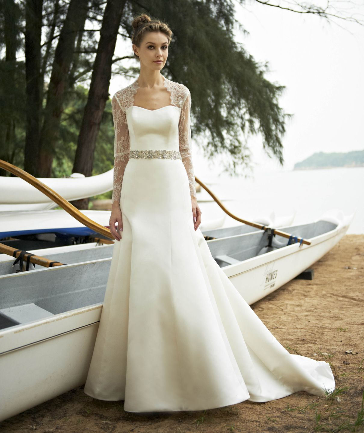 Grace - Mermaid, Fit n flare, Strapless, Classic, Sweetheart, Lace ...