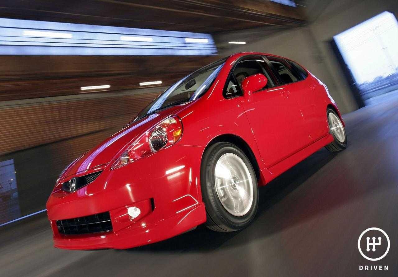 2007 Honda Fit Sport Honda fit, Honda car models, Honda