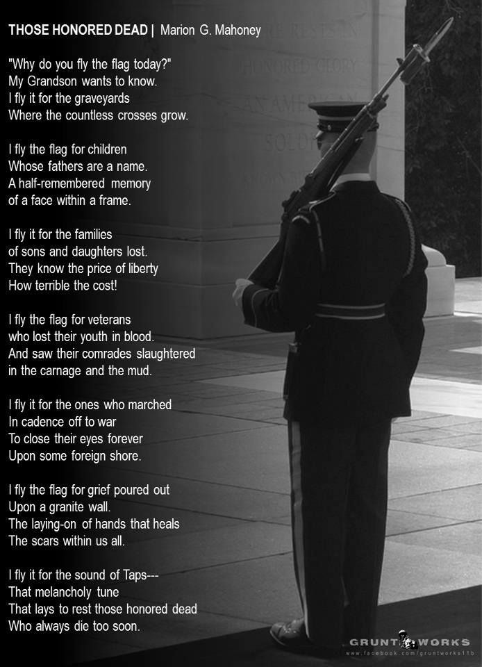 Why do we fly the flag Memorial and Veterans Pinterest