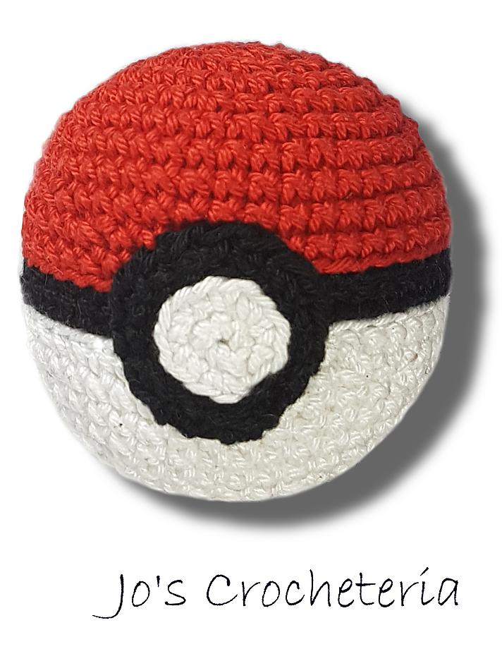 Crochet This Simple Free And Fun Pokeball Crochet Pattern Crochet