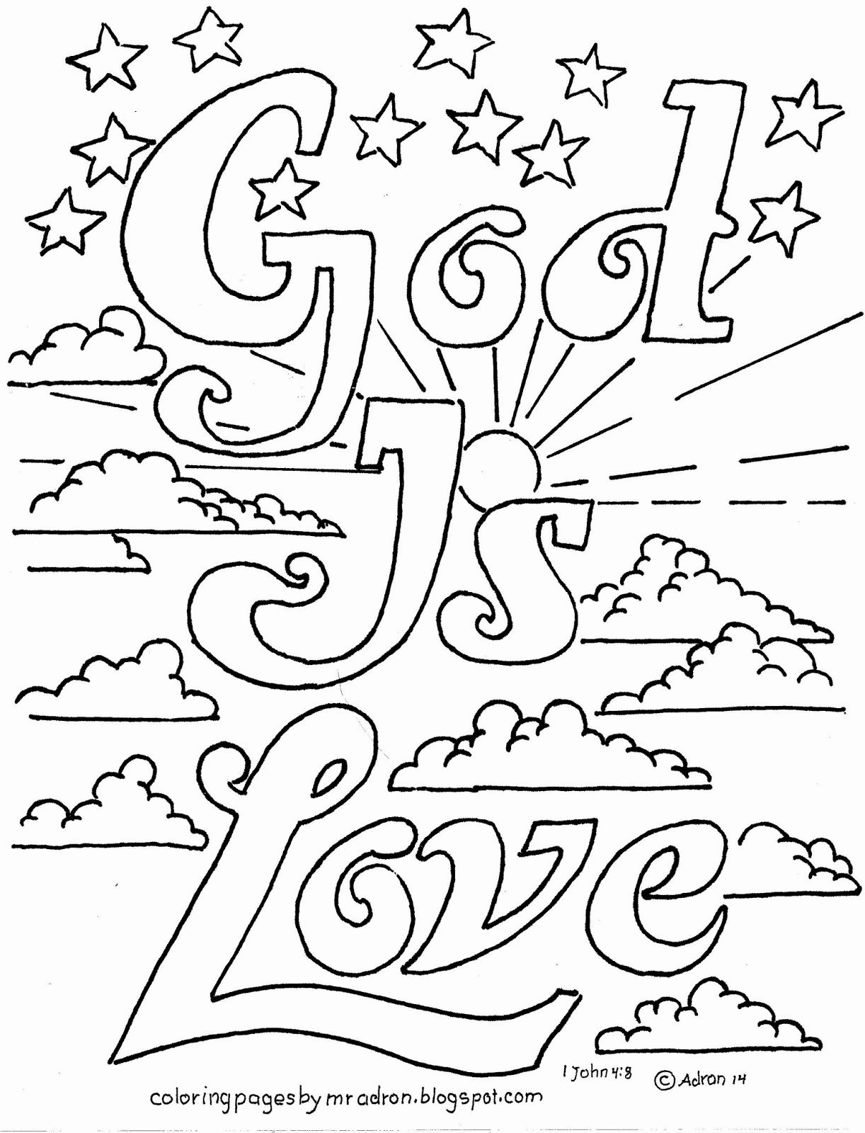 Fall Coloring Pages For Kids Church In 2020 Love Coloring Pages Free Kids Coloring Pages Sunday School Coloring Pages