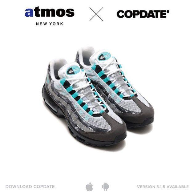 The atmos x Nike Air Max 95 Clear Jade Will Release Exclusively At atmos  NYC The atmos x Nike Air Max 95 Clear Jade from the We Love Nike Pack a…