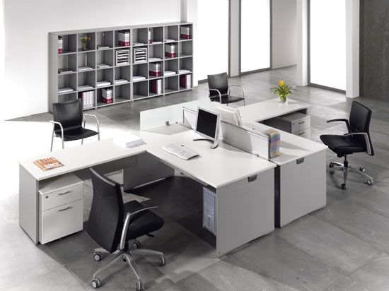 Mesa de oficina en esquina buscar con google for Mesas para esquinas