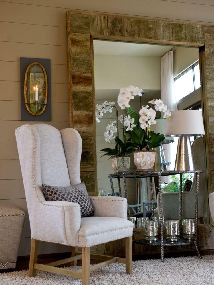 #wohnzimmer Spiegel Im Wohnzimmer U2013 Modelle Und Schöne Ideen Für Die  Einrichtung #Spiegel #