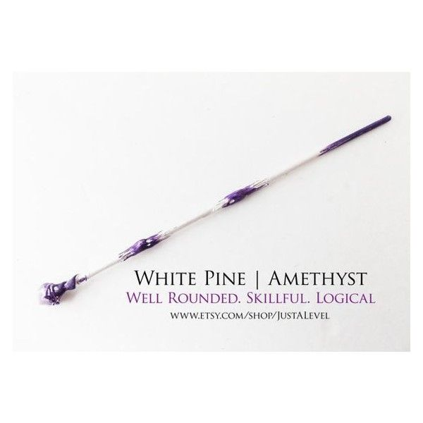 Rarity Fiction Inspired Wand, Personality Trait, Light Witch