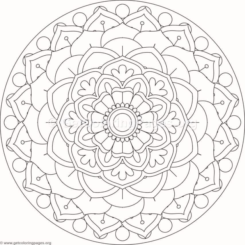 pin von franzi lebe auf malvorlagen mandala  mandala