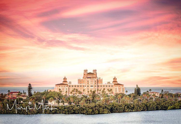 photographer landscape photography don cesar hotel florida st pete