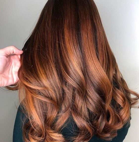 Craving a new season hair colour? Copper highlights are set to become the most coveted colour of the year & best of all, they look amazing on all hair hues. | All Things Hair - From hair experts at Unilever #copperbalayage