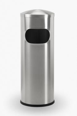 7 Gallon Allure Mini Stainless Steel Trash Can Garbage Can
