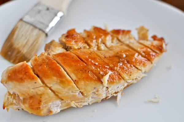 Carmelized honey dijon chicken