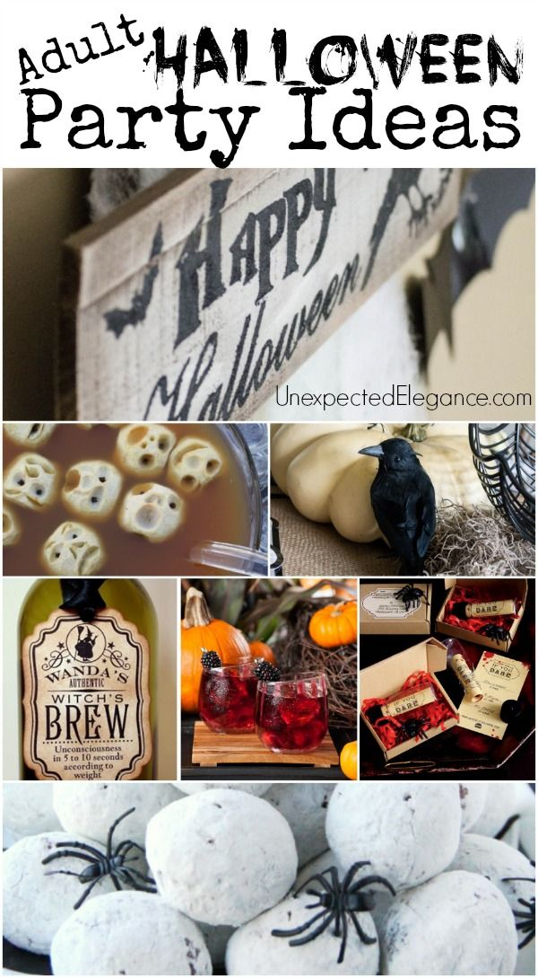 halloween themed parties for adults