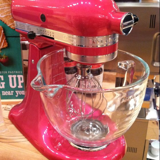 Hot Pink Kitchen Aid Mixer