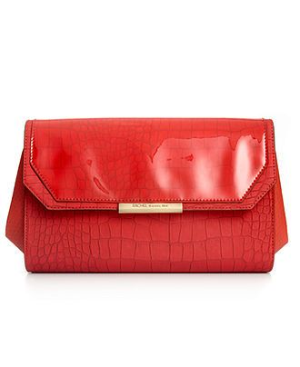 Paint the town in red:  RACHEL RACHEL ROY #handbag #clutch #red BUY NOW!