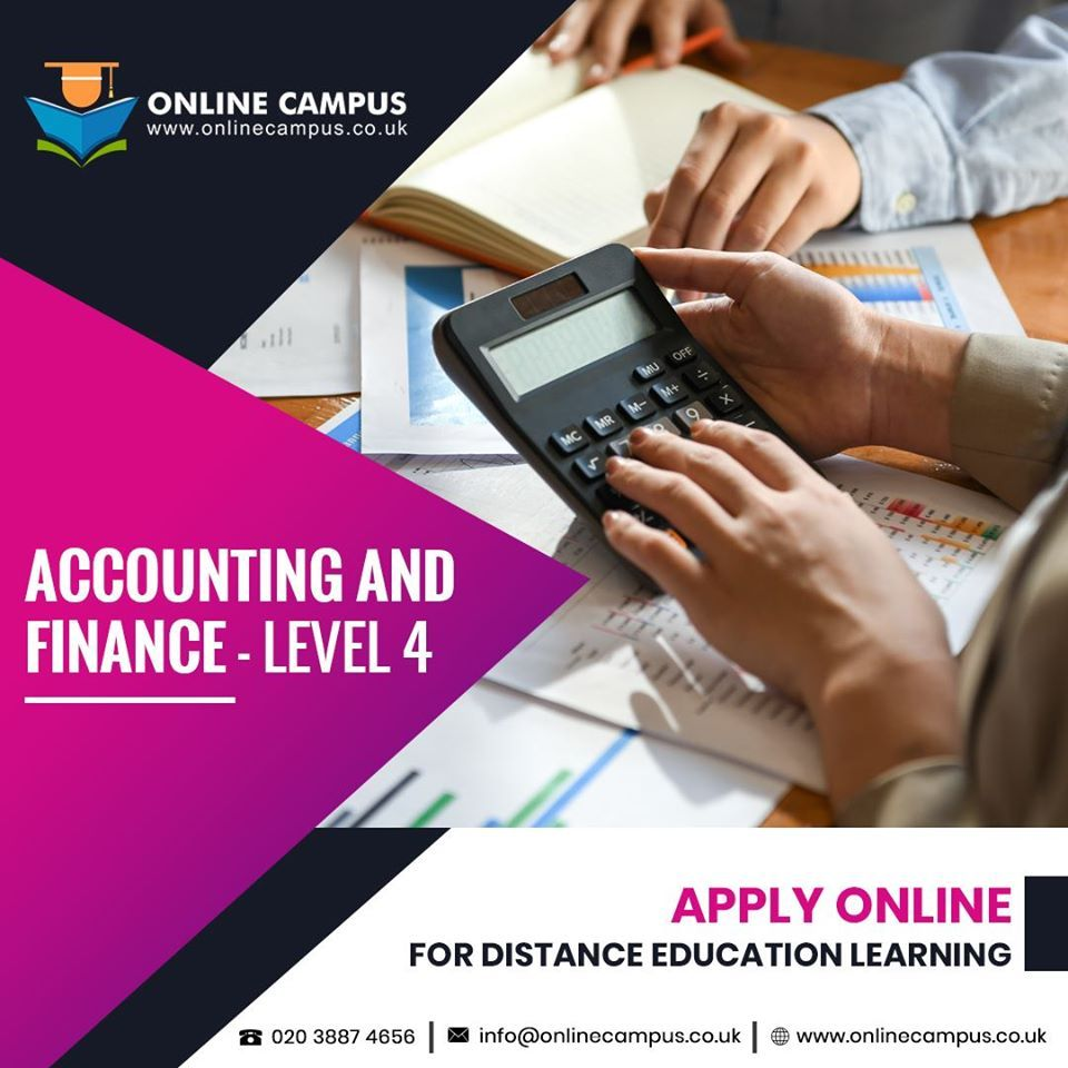 Accounting and Finance Level 4 in 2020 Accounting and