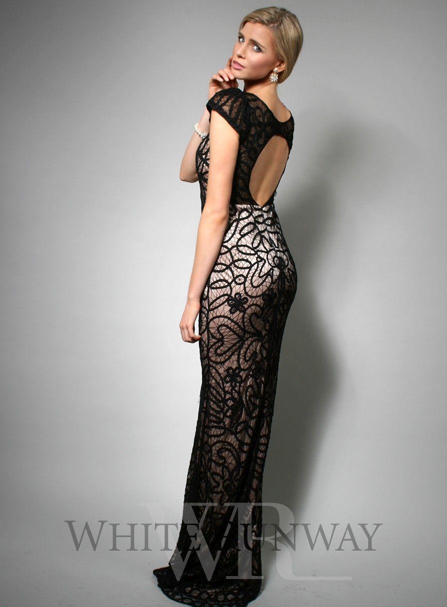 Jadore black dress halter