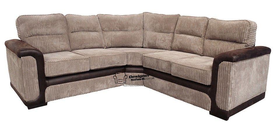 Sydney Fabric Corner Sofa Unit 2 Seater