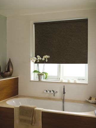 Toro Mocha Waterproof Pvc Roller Blind Fully Made To Measure From 29 99 A