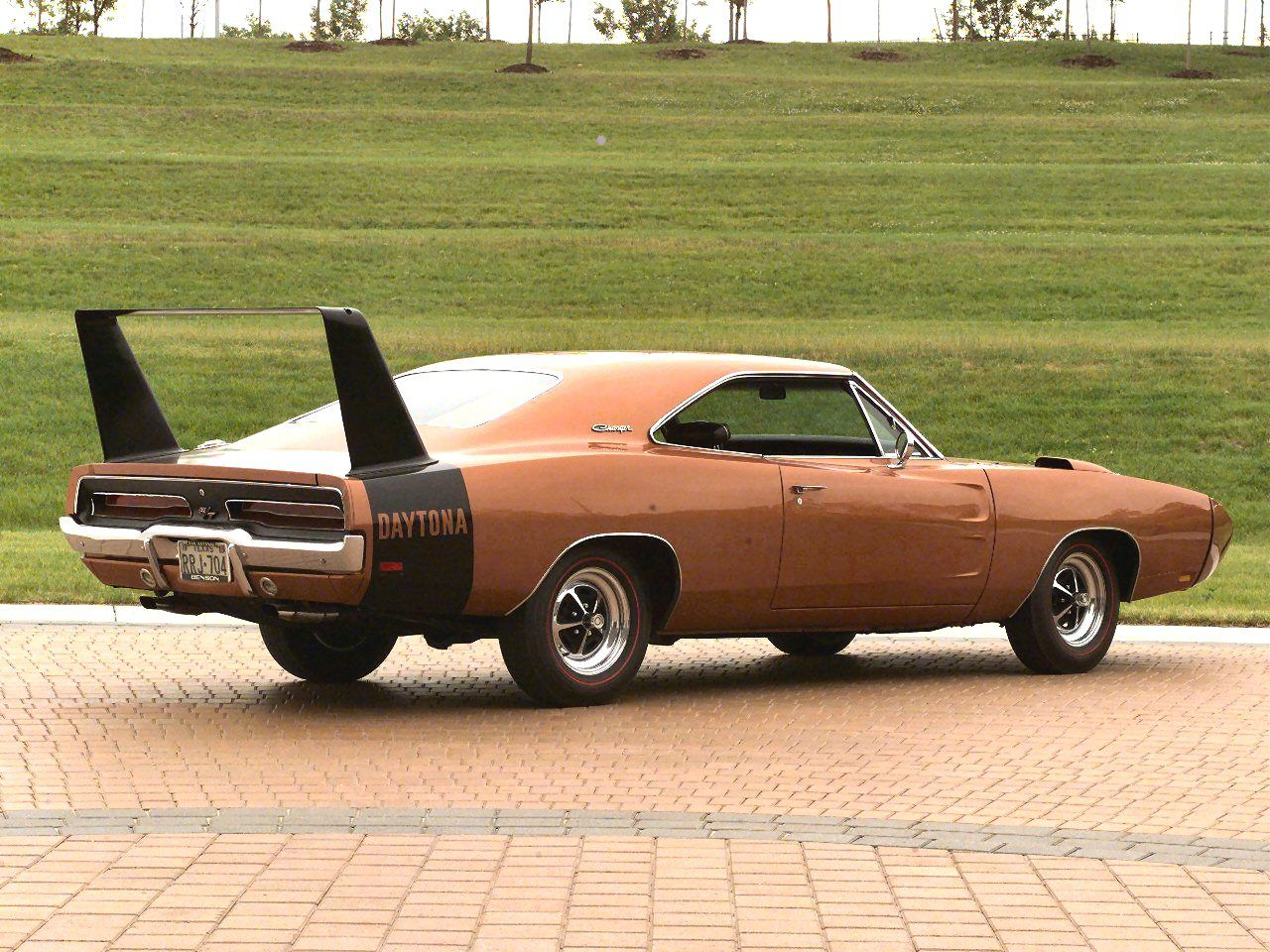 1969 Dodge Charger Daytona Copper Muscle Cars Dodge Charger Daytona Dodge