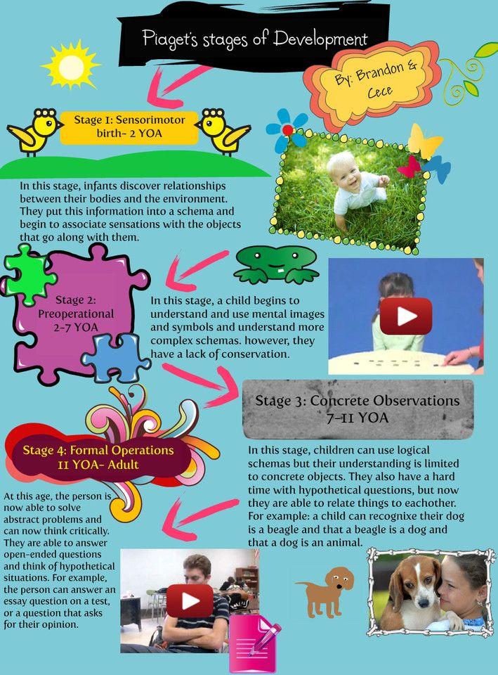 Piaget S Stage Of Development Cece And Brandon Source Jpg 709 960 Child Developmental Milestones Essay