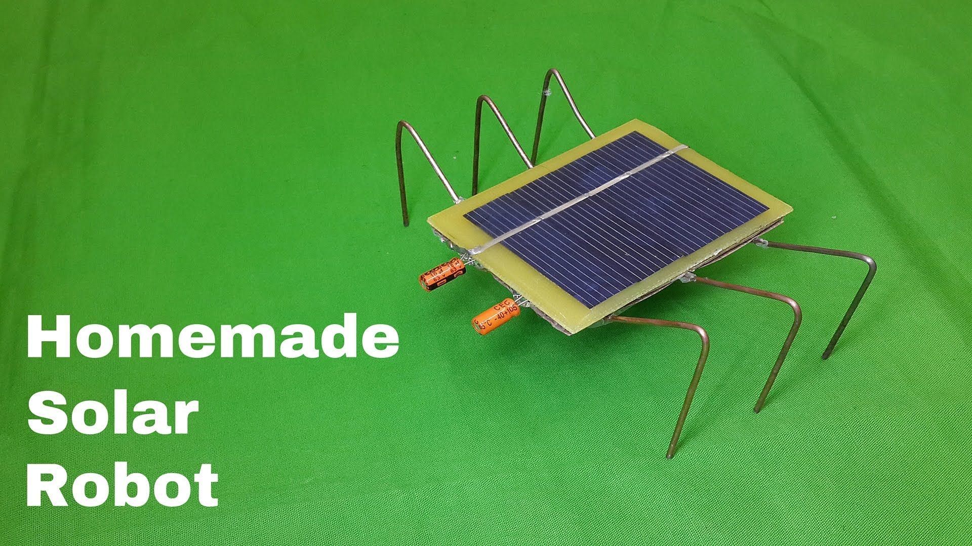 How To Make A Homemade Solar Powered Robot Toy Very Easy Solar Powered Toys Solar Energy Projects Solar Power