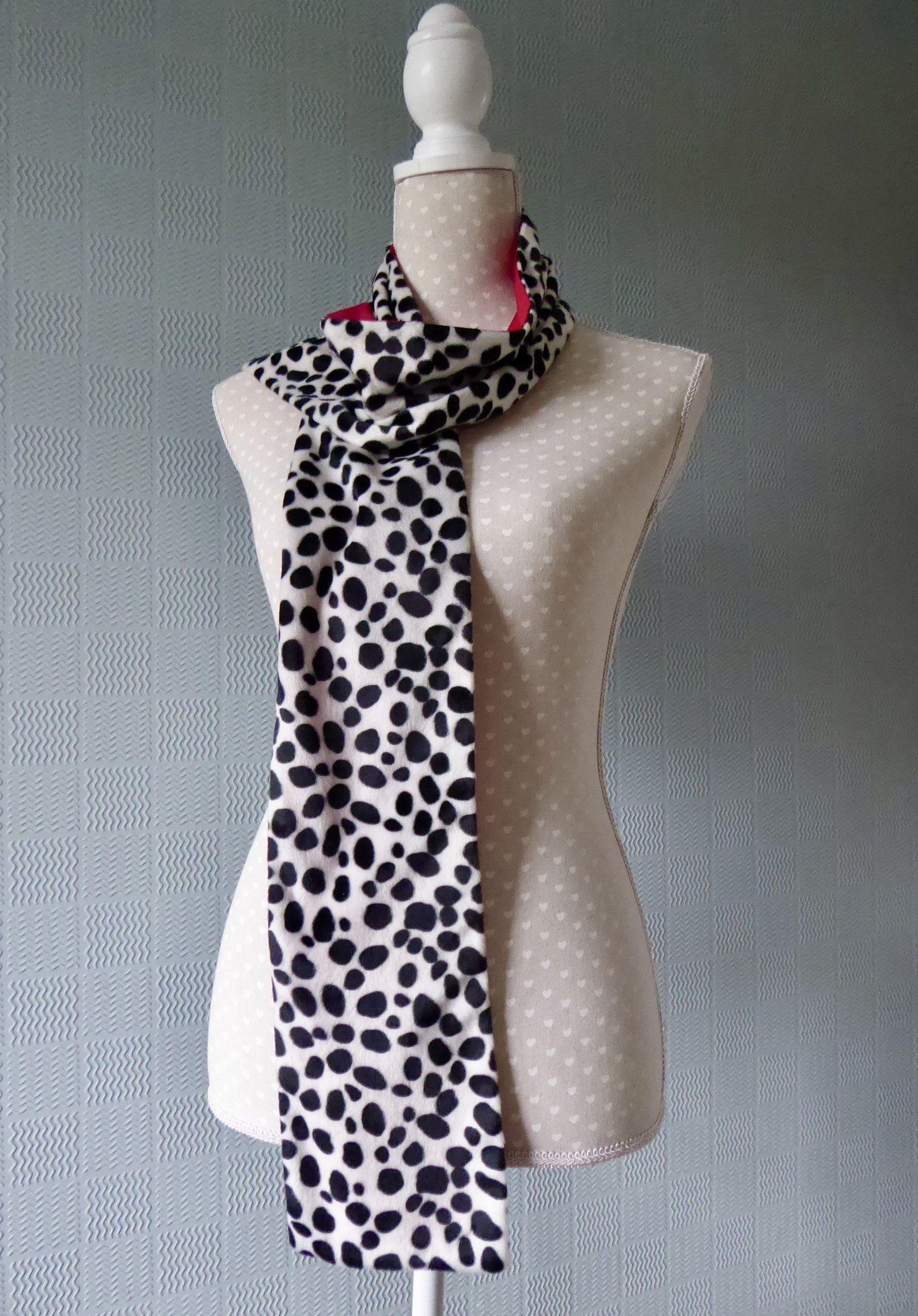 velboa animal print cowl animal neckwarmer loop scarf Animal print snood