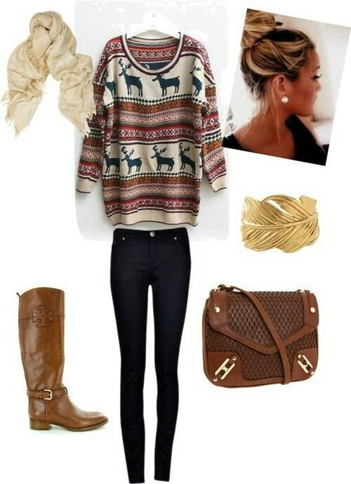 Comfy Fall Outfit I Actually Love That Sweater Tj Maxx Has