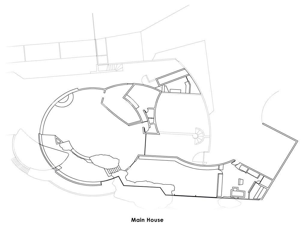 Elrod House Von John Lautner John Lautner Architecture Design Concept Facade Architecture