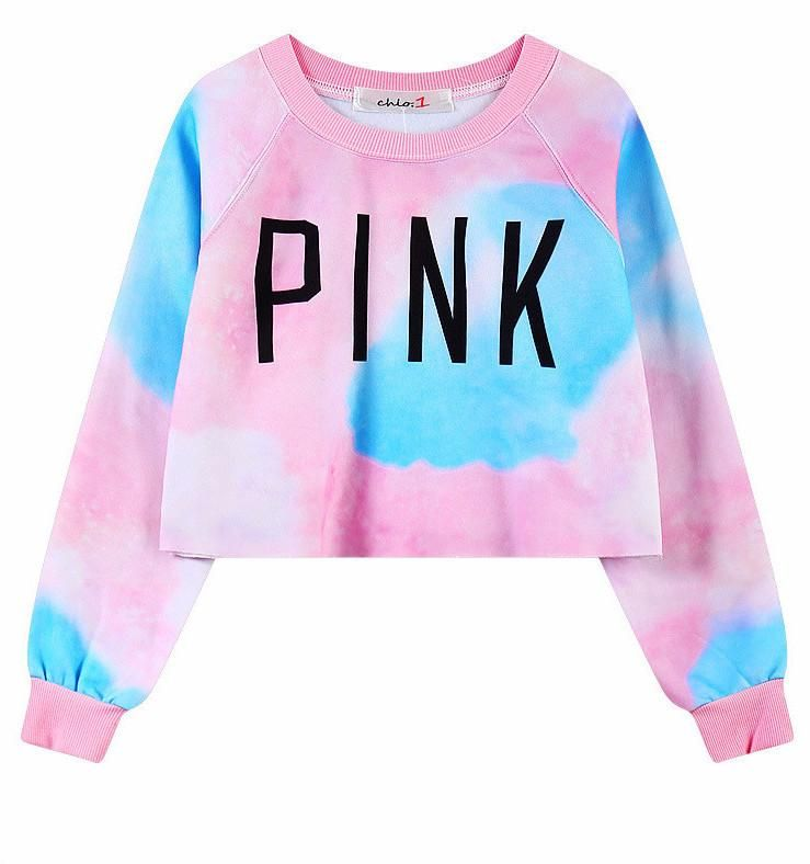 76048dfcce2f64 Pink Cotton Candy Crop Top. Pink Cotton Candy Crop Top Crop Top Sweater