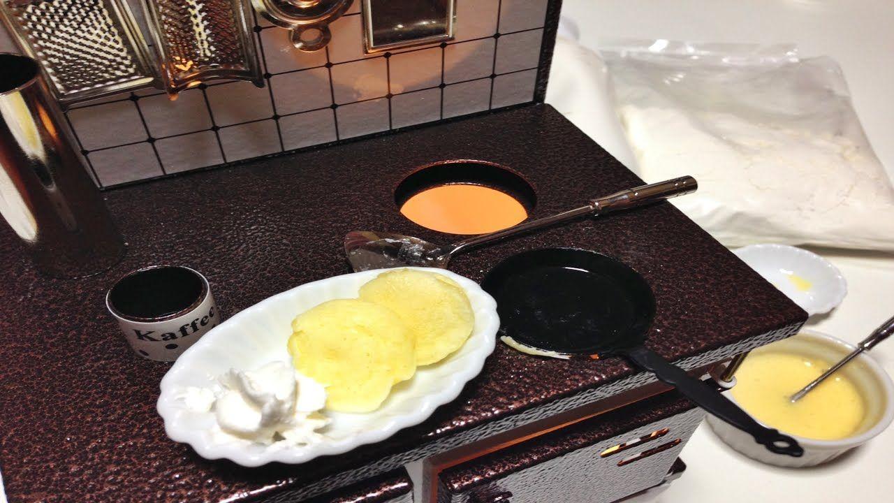 """Miniature Food """"pancake""""How To Make pancake/Cooking"""