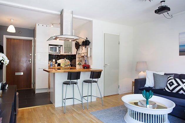 20 Fotos E Ideas Para Integrar Una Cocina Pequena Abierta Al Salon