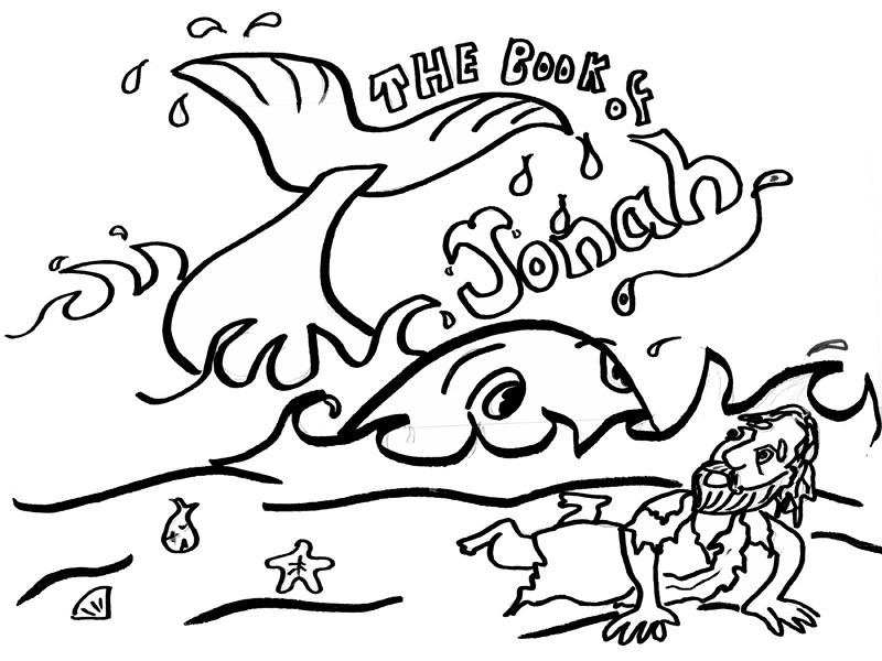Encantador Jonah Para Colorear Friso - Dibujos Para Colorear En ...