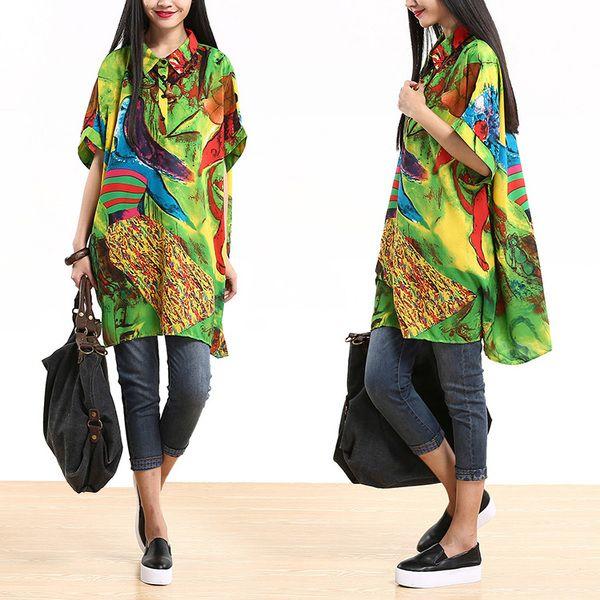 Femmes Summer Robe chemise de Fashion Lady sur DaWanda.com