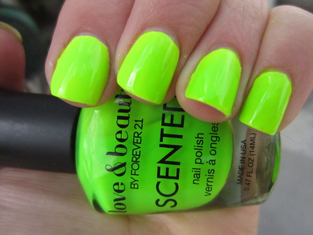 neon green nails pictures - Google Search | nail art designs | Pinterest