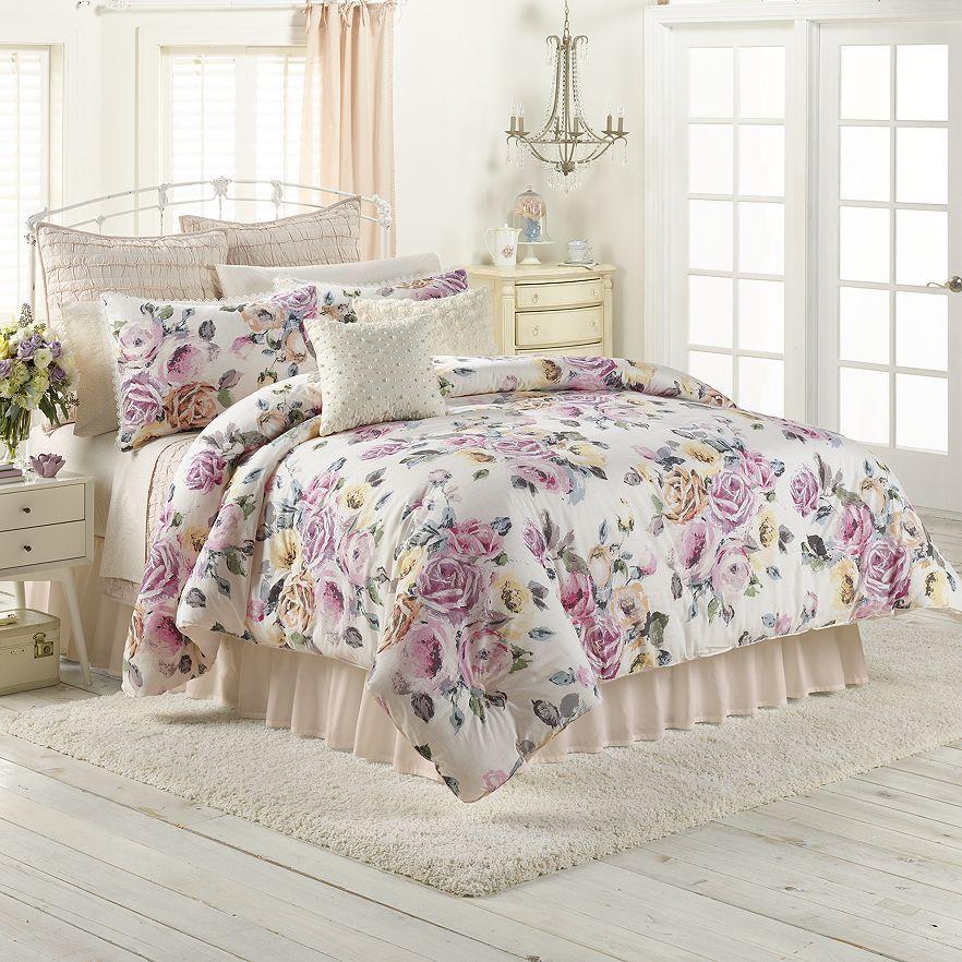 Decorate Your Dream Bedroom With This LC Lauren Conrad Rose Garden  Comforter Set.