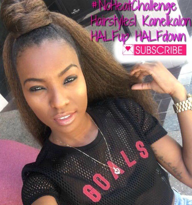 Protective Hairstyles Using Kanekalon Hair Kanekalon Hairstyles Protective Hairstyles Afro Hair Inspiration