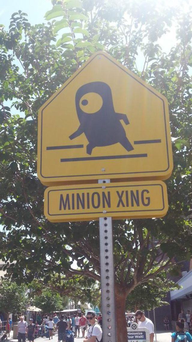 Love this sign at Universal Orlando Seaworld orlando