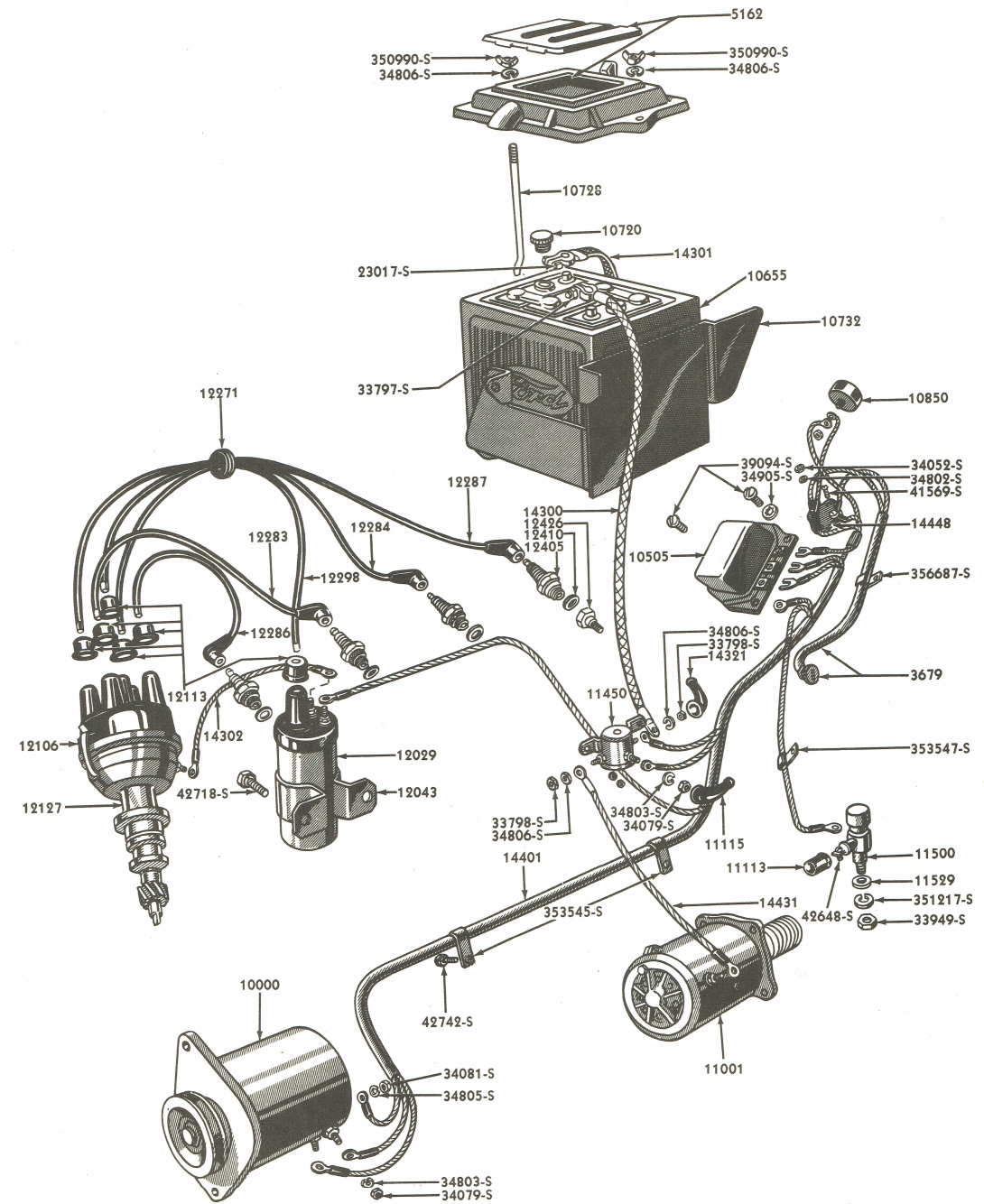 Image Ford Wiring Diagram Ford Naa And Jubilee Wiring Diagram Ford Wiring Diagram Bookingritzcarlton Info Ford Tractors Ford Tractor Parts