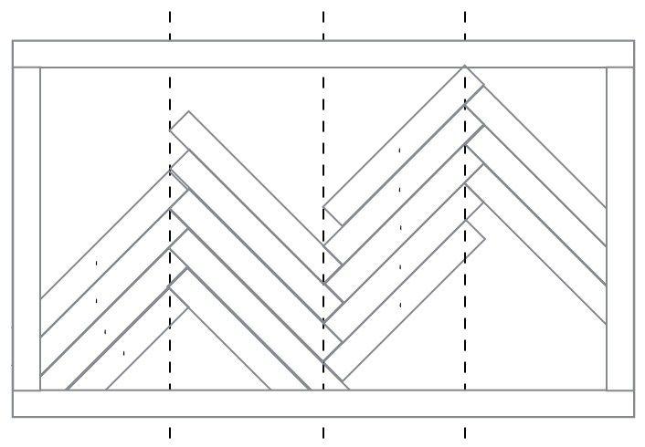 Photo of How to Make a Wood Herringbone Pattern – Welsh Design Studio