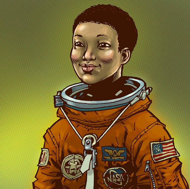 Mae Jemison - pioneering female astronaut | It's Art ...
